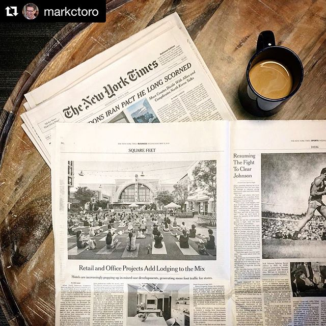 Incredibly proud of our #hospitality team for their work on @hotelatavalon and its feature in @nytimes. Swipe to see some additional photos of the space! ・・・ #Repost @markctoro ・・・ Yes, that's Avalon prominently featured in @nytimes story on @hotelatavalon's impact on our city-within-a-city. 📸via @lianafmoran
