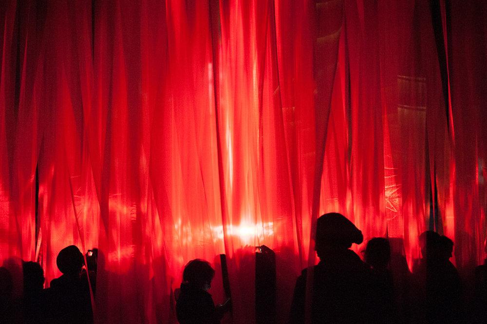 Light Beams Dance_Francois de Costerd_Illuminus 2014