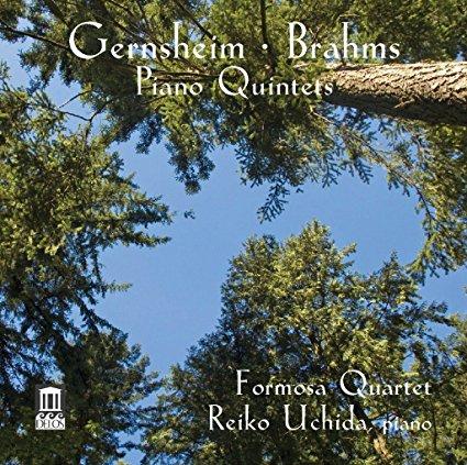 Gernsheim & Brahms: Piano Quintets