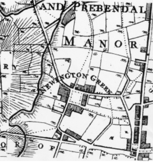 Newington Green Circa 1800