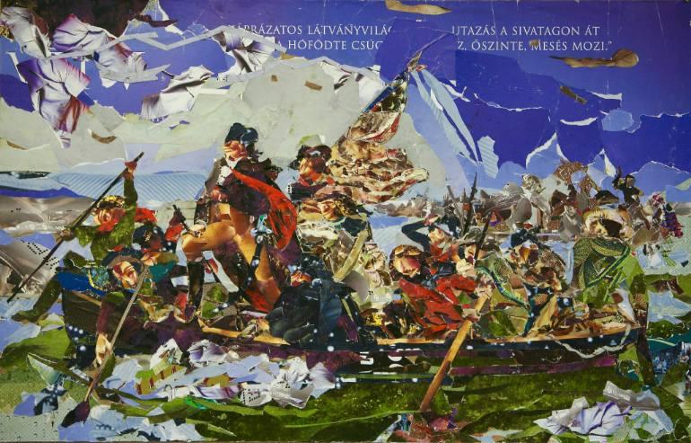 """Washington Crossing "" by Ede Sinkovics"