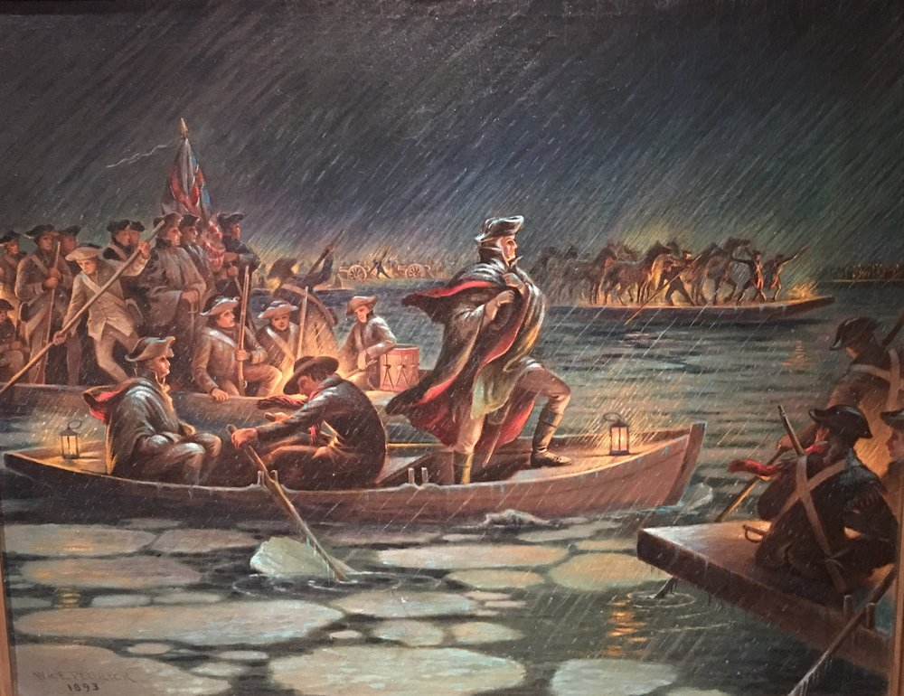 """Washington Crossing the Delaware"" by William Pedrick"