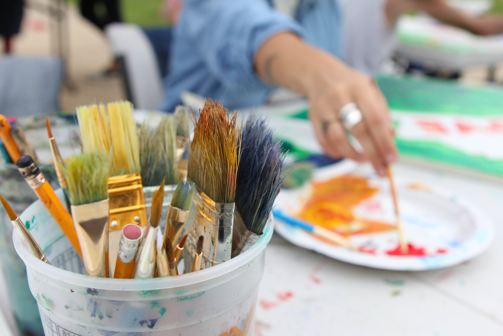 """Teach at BSB - """"Art is a place for children to learn to trust their ideas, themselves, and to explore what is possible.""""—Maryann F. Kohl"""