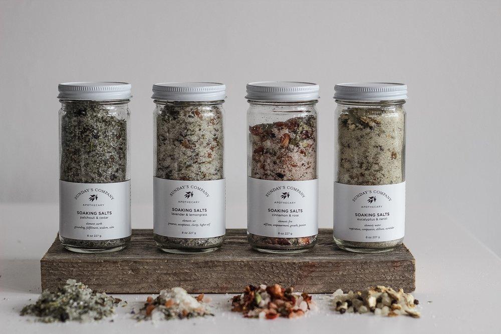 Salts and Body Soaks