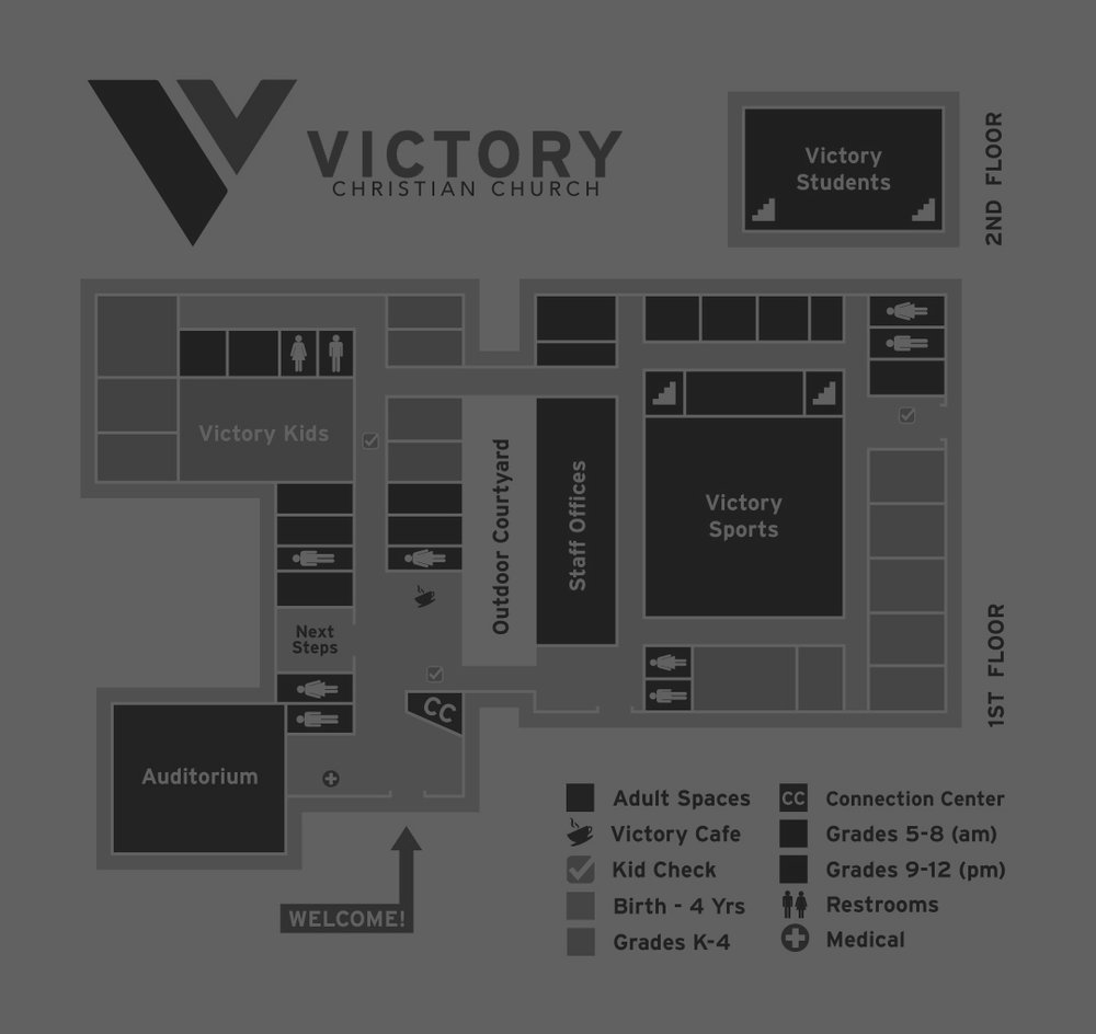 BUILDING MAP - FIND YOUR WAY AROUND VICTORY