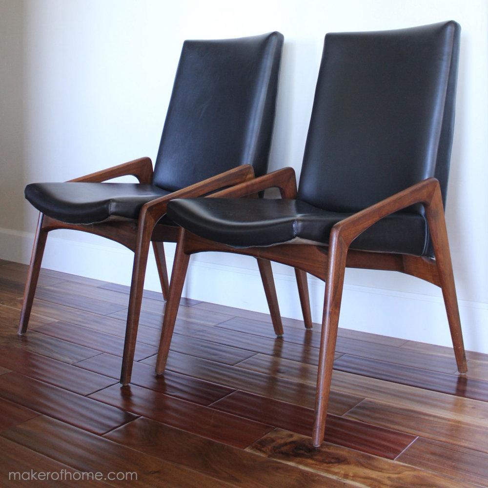 MCM Walnut Chairs