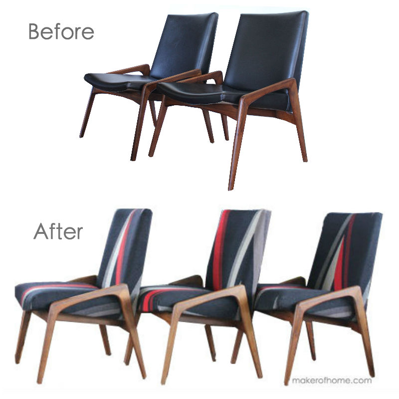 Office Chairs Before and After