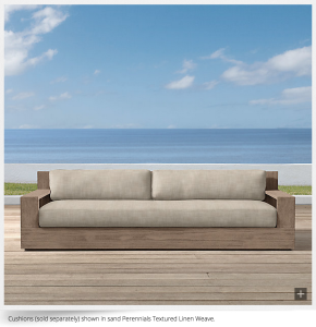 Restoration Hardware Marbella Sofa