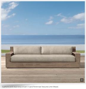 Restoration Hardware Marbella Sofa