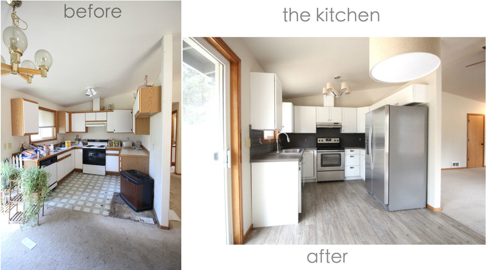 Iro Kitchen Before and After