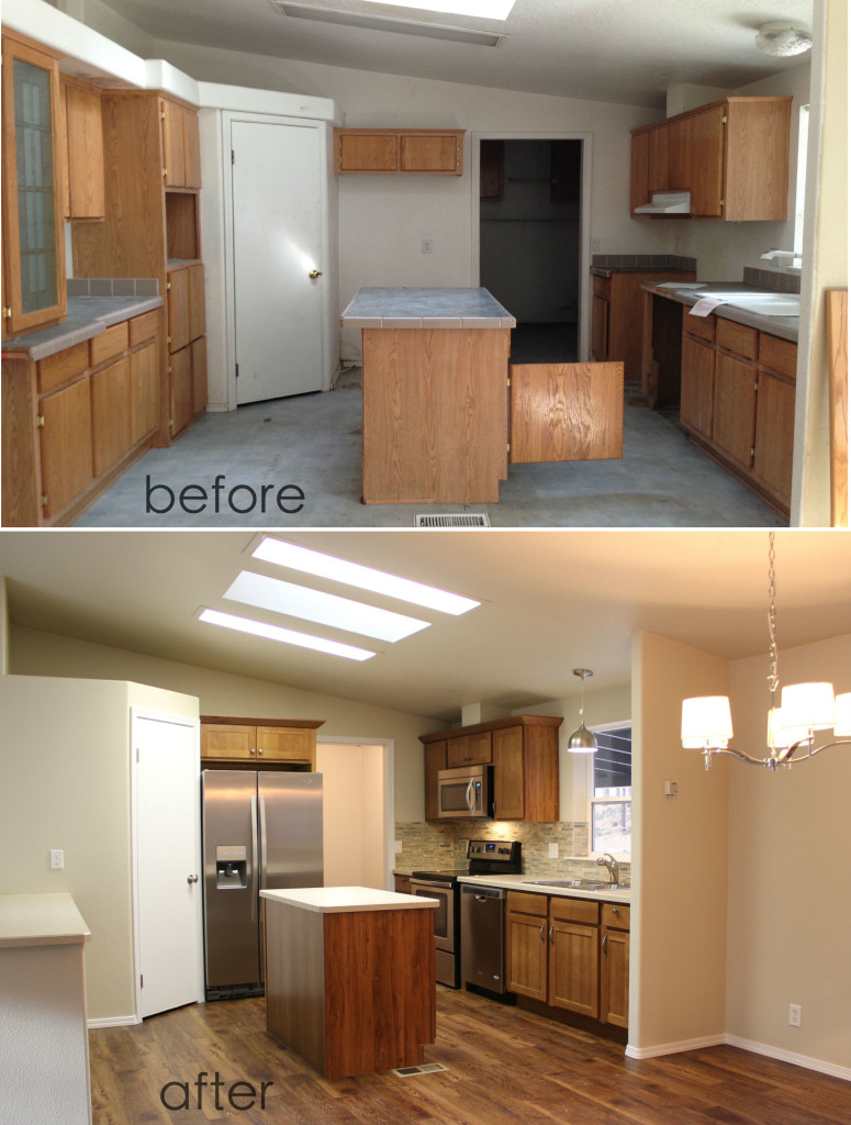 Agate Kitchen Before and After