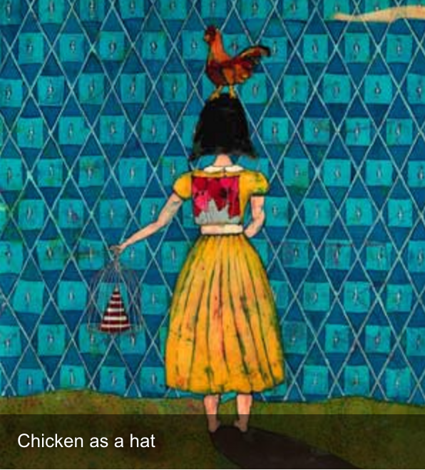 Chicken as a Hat