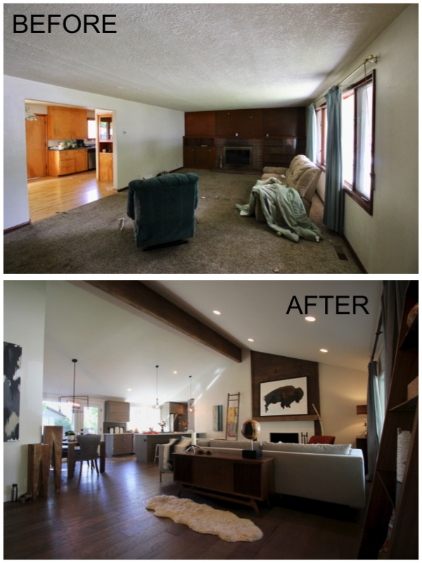 RENOVATIONS - A collection of before and after photos…