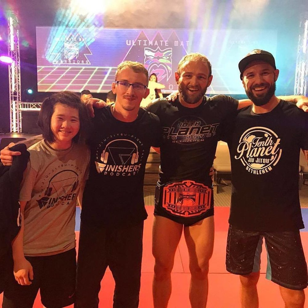 Our Dedicated Team - has gone coast to coast to test our techniques in competition. From Gracie Nationals to EBI and Ultimate Mat Warriors, the Finishers Crew continues to bring home the gold.