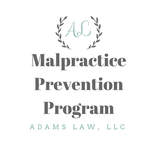 A monthly service developed for the health care professional - Invest a few hours every month to reduce your malpractice risk.  This program is intended to help those in the medical field who don't have the benefit of in house counsel.  Just a few hours a month spent on reviewing your cases and discussing how best to handle issues that have arisen will often prevent a malpractice suit from being filed.  Contact me for more information about this service.