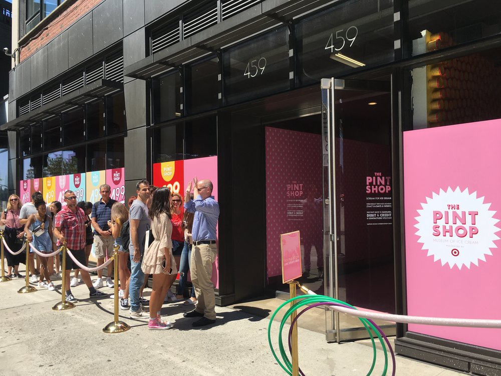 Museum of Ice Cream Activation