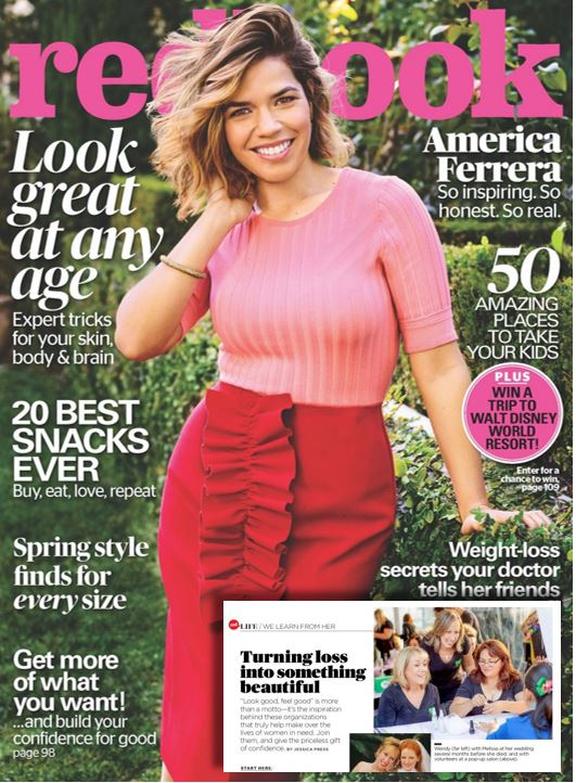 March, 2017 - Check out our exclusive article in Redbook Magazine