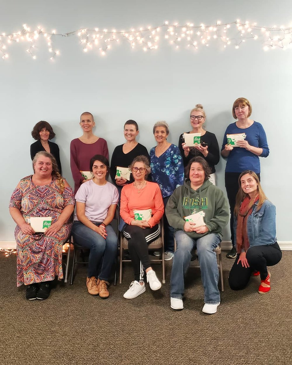 Thanks to this wonderful group at weSPARK Cancer Support Community for being such thoughtful and kind participants!
