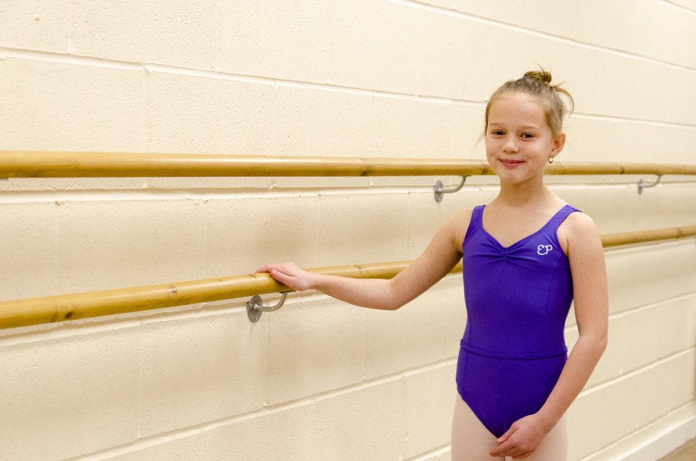 Grade 2 Royal Academy of Dance student, York