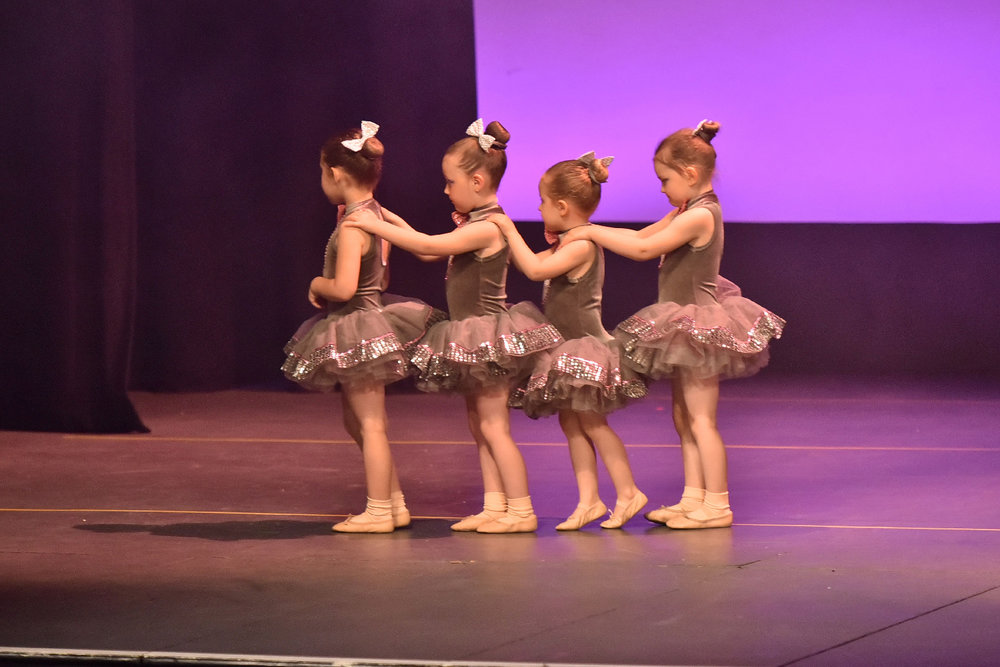 Young En Pointe ballet dancers take to the stage at our annual Jospeh Rowntree Theatre performance