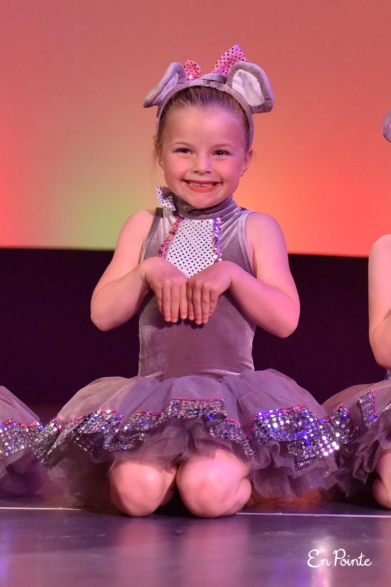 Your little dancers' personal goals - Some of the biggest accomplishments will be things like standing on stage and not crying, remembering the dance routine/choreography, knowing where to stand and put her or his arms, remembering to smile, or feeling proud for accomplishing a personal goal. Every time the dancer has the opportunity to go on stage he or she will feel more and more comfortable and confident when faced by an audience and everything that brings with it. The growth is truly rewarding for the child, mum, dad, grandparents, friends and for us teachers too.
