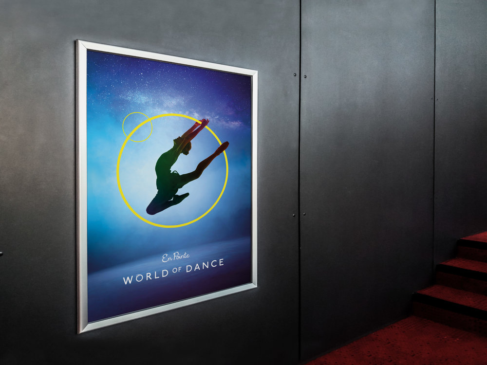 Dance school, Dance show poster, York dance ballet show