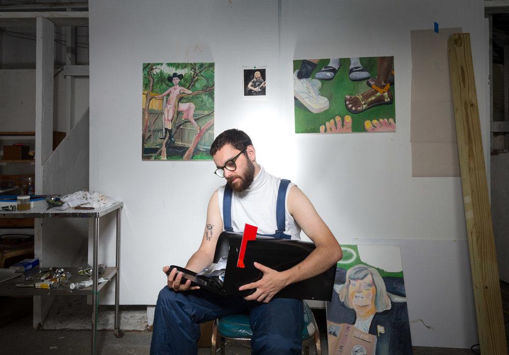 GABE GORDON - Artist-in-Residence