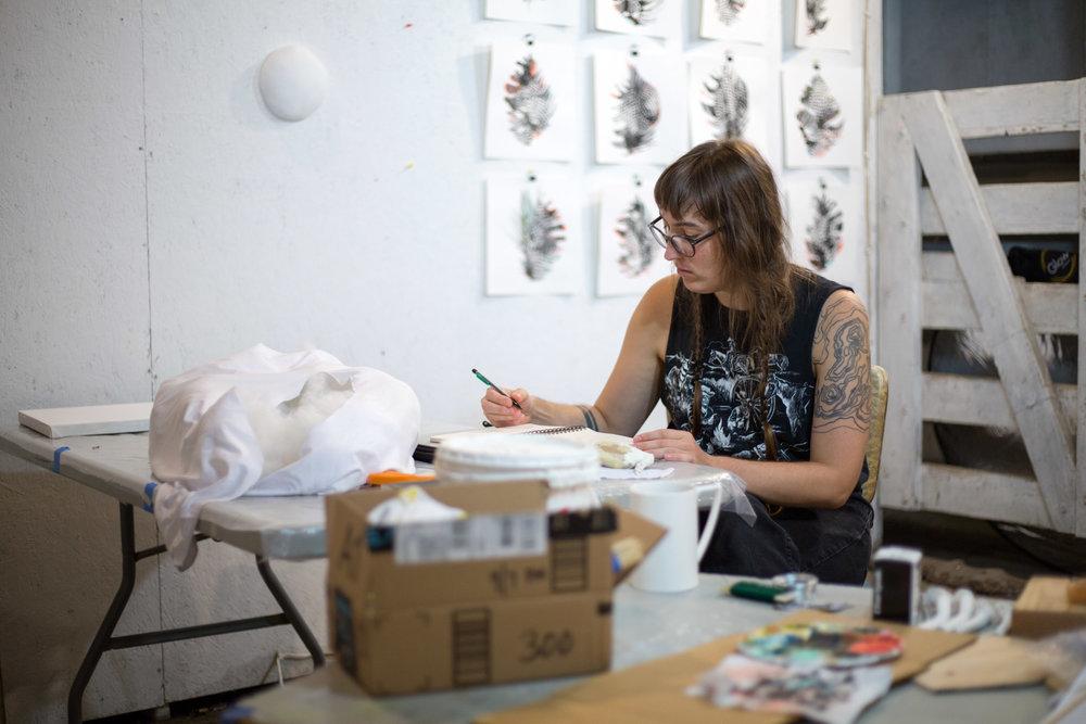JANEL SCHULTZ - Artist-in-Residence
