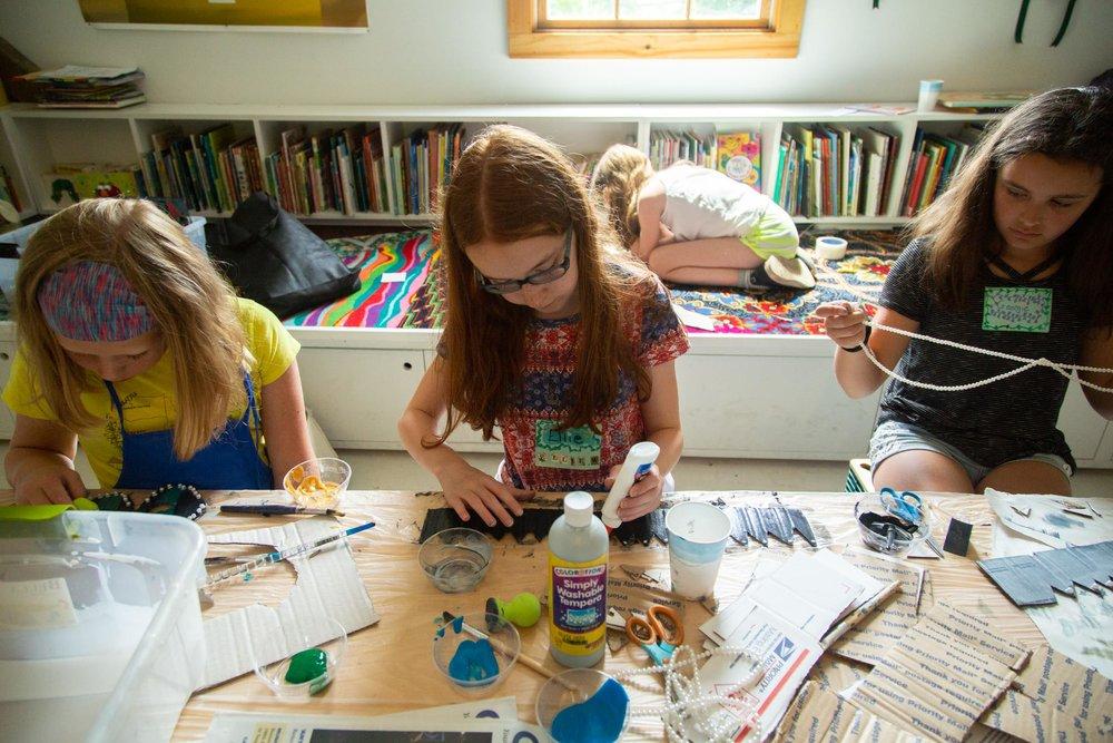 2019 Camp Wassaic - Summer Arts Program for Students Grades 6–9