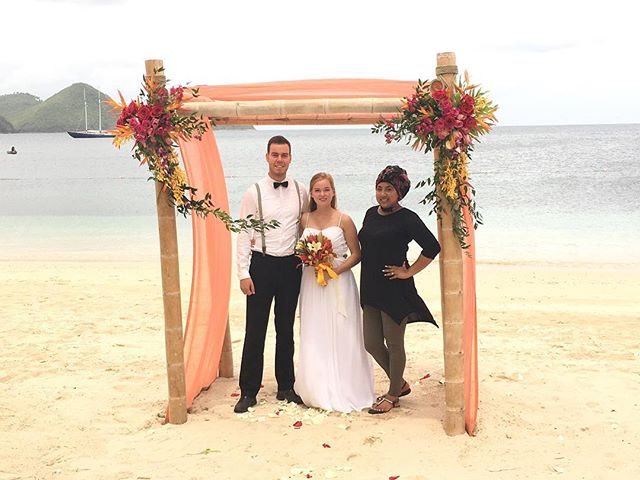 #tbt to the wedding in #stlucia #sandalsgrandestlucian #natashaeventsandtravel #destinationwedding #destinationweddingspecialist