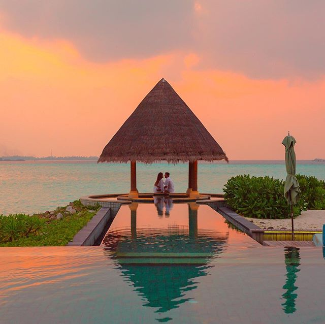 Romance at its best #destinationwedding #sunset #weddingcouple #destinationweddingspecialist #natashaeventsandtravel