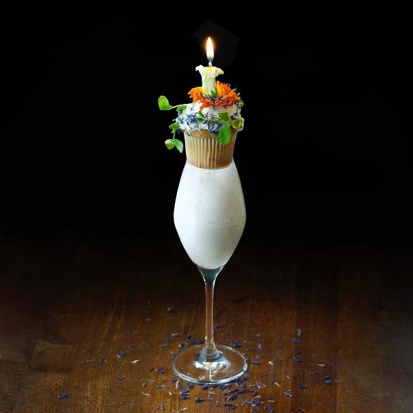 French 75 Milkshake