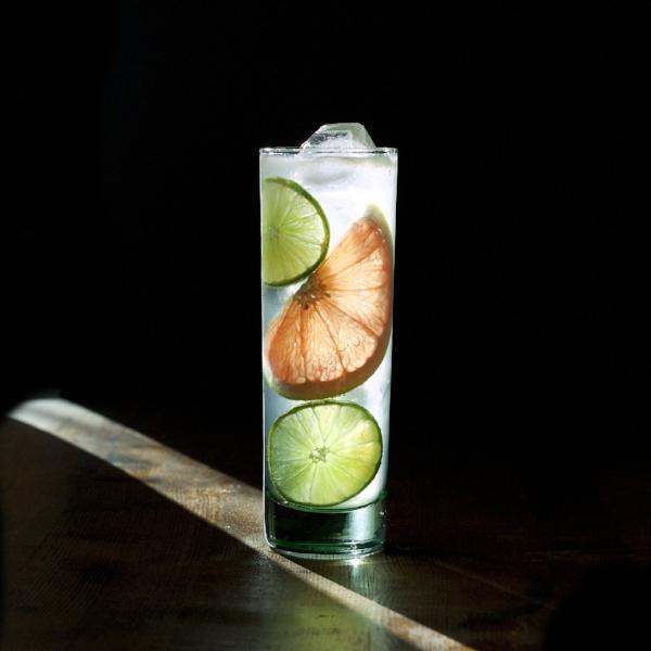 Grapefruit + Ginger Gin + Tonic