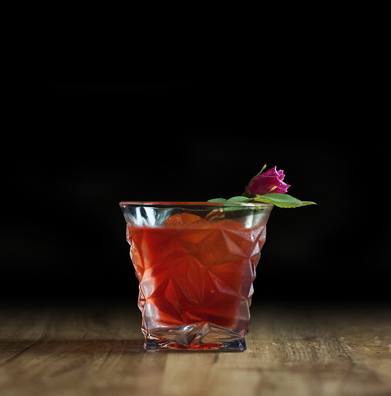 Elan Collective The Stanley Rocks Glass - Rose Scented Negroni