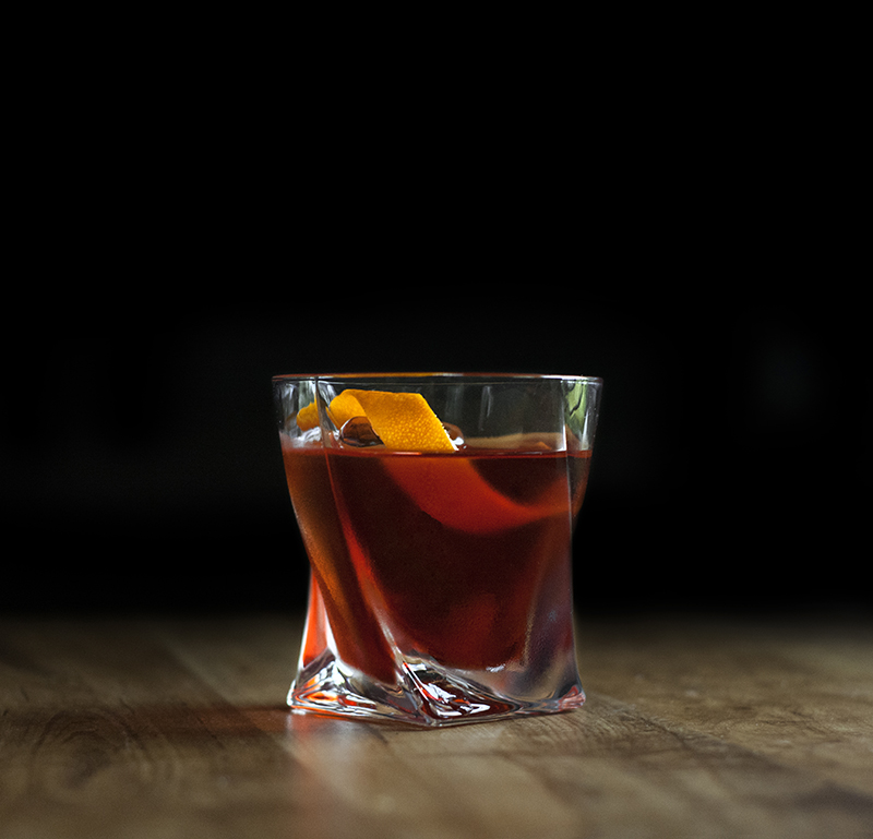 Elan Collective The Charles Rocks Glass - Cocoa Boulevardier