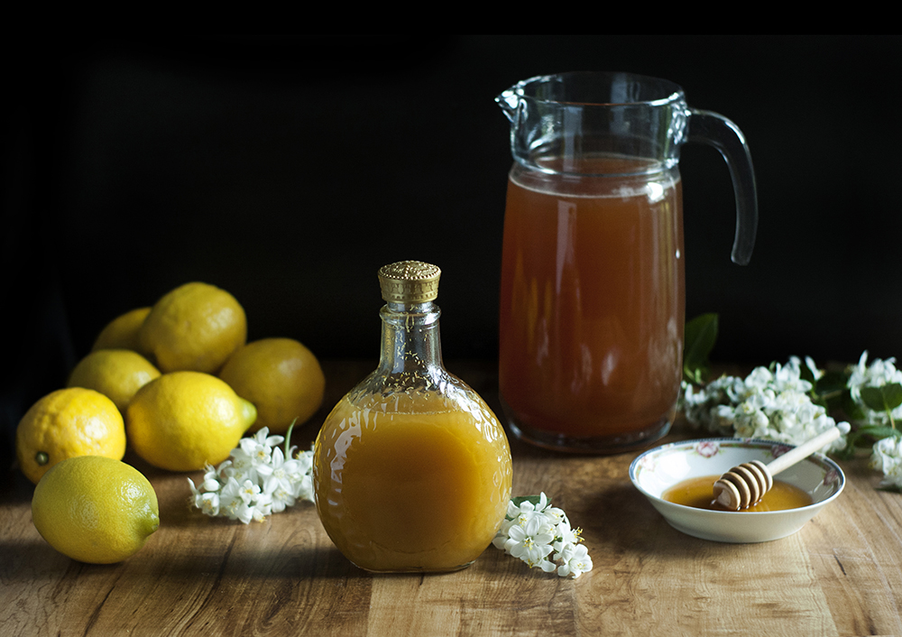 Chamomile + Bee Pollen Bourbon Cocktail
