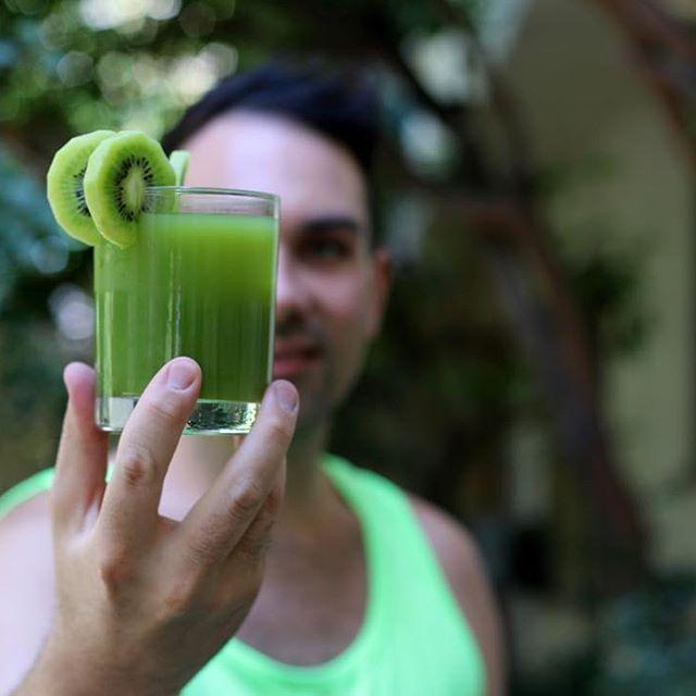 """Kiwi Matcha Limeade"" by Dan Magro // Image via  @danmagro"