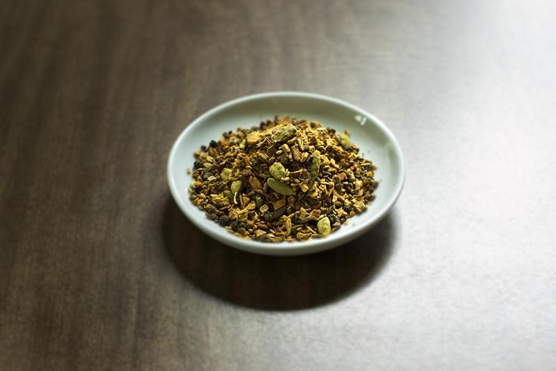 Turmeric Chai Hot Buttered Rum + Golden Spiced Apple Tart