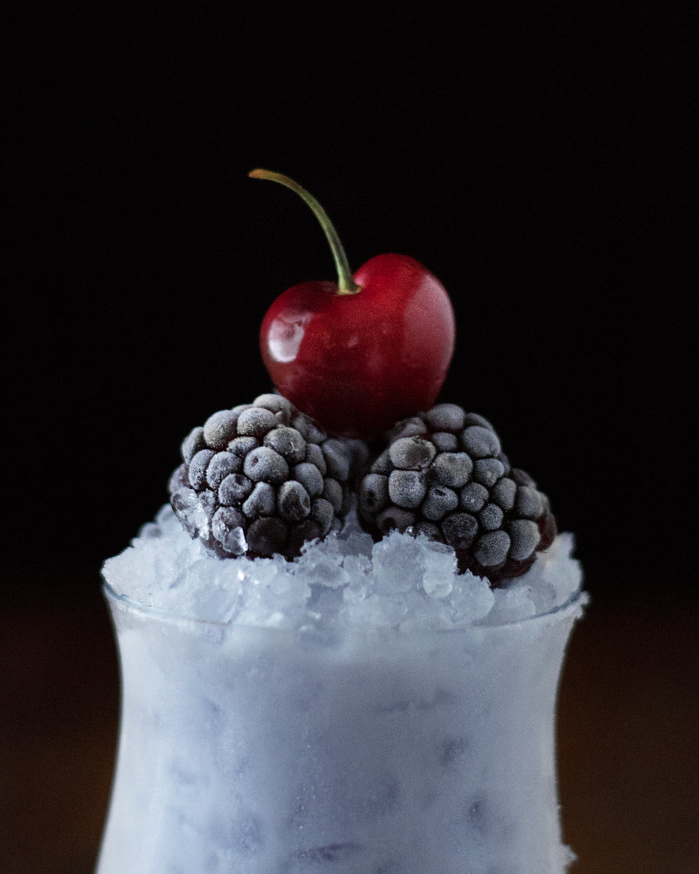 Cherry Violet Coconut Gin Cooler