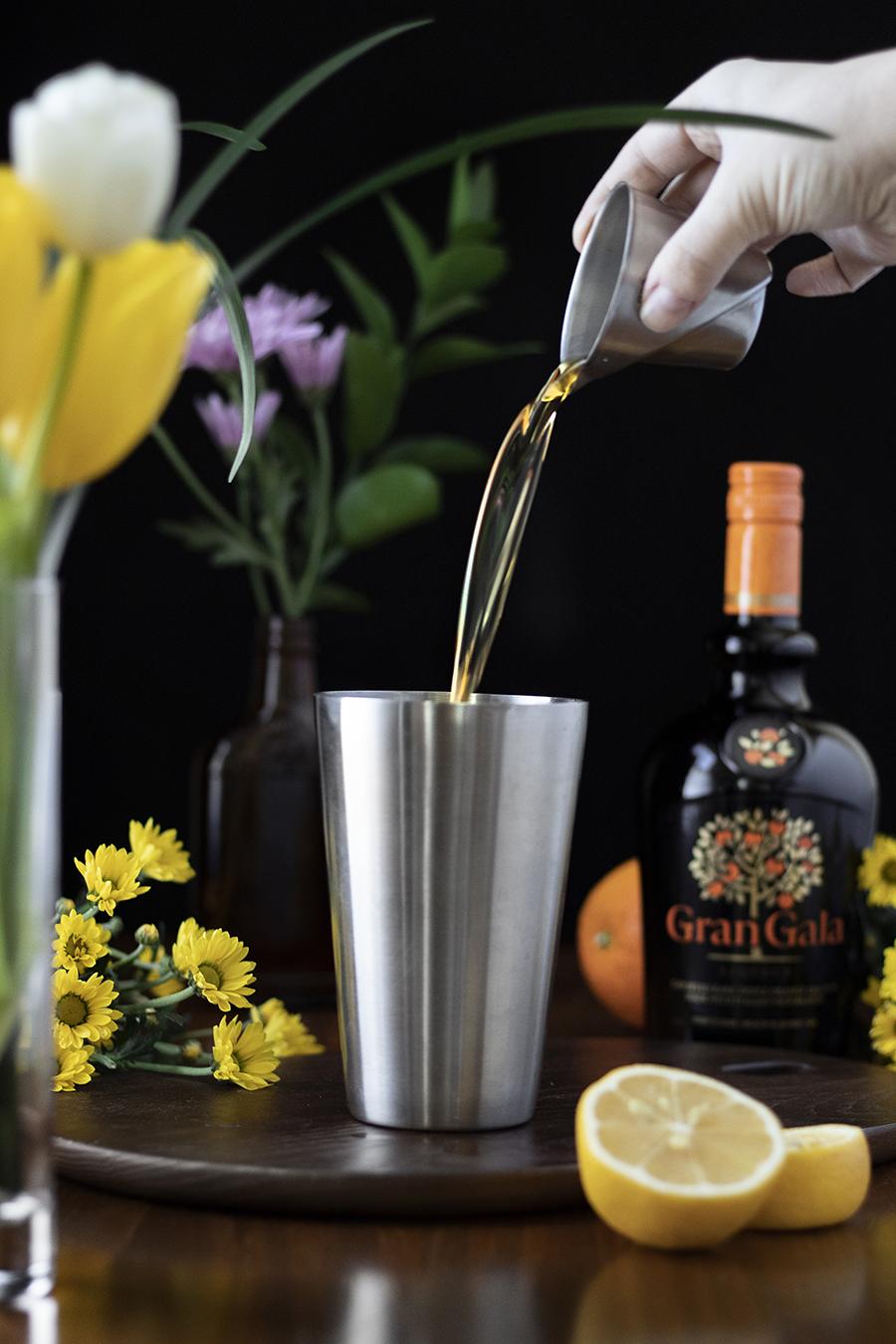 Spring cocktails featuring Gran Gala orange liqueur