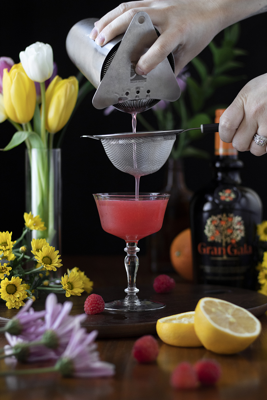 Spring Reviver cocktail recipe by Amy Traynor / Moody Mixologist