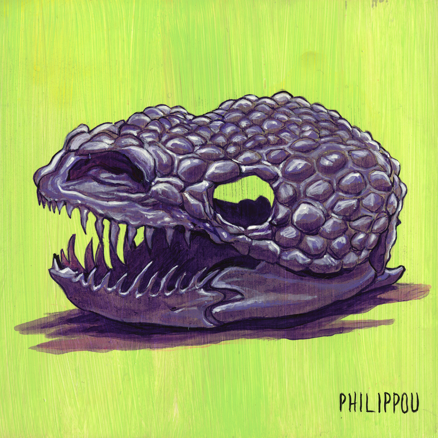 GILA-MONSTER PAINTING