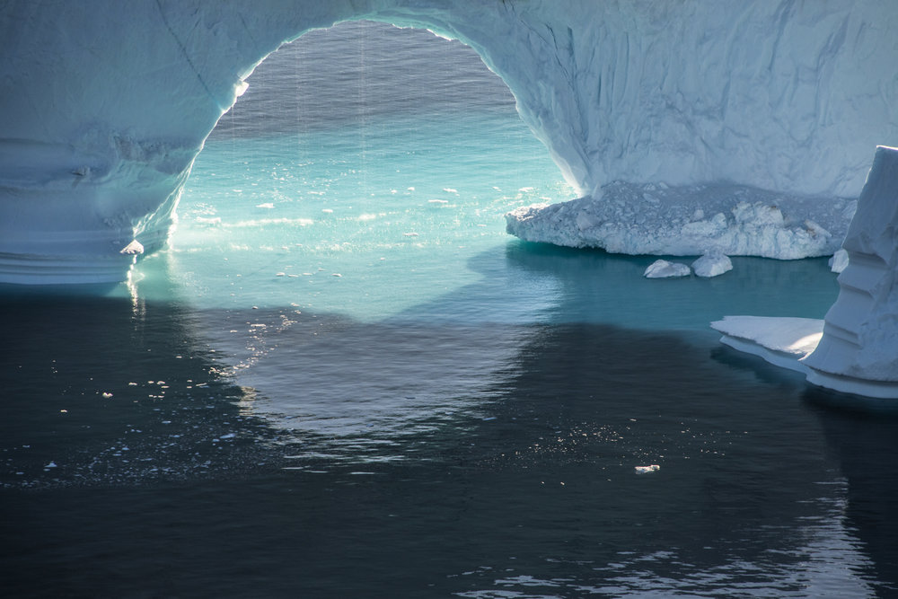 Broken Arches, Disko Bay, Greenland