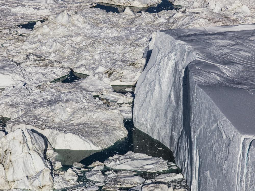 Jakobshavn Glacier, Greenland, 9:26 PM