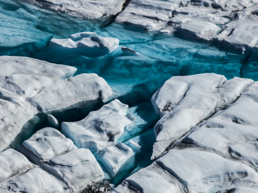 Meltwater, Greenland Ice Sheet
