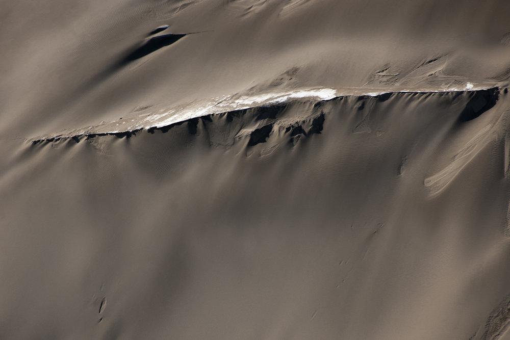 Eolian Sand Ridge, Victoria Valley Sand Dunes