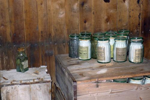 Salt used a preservatives