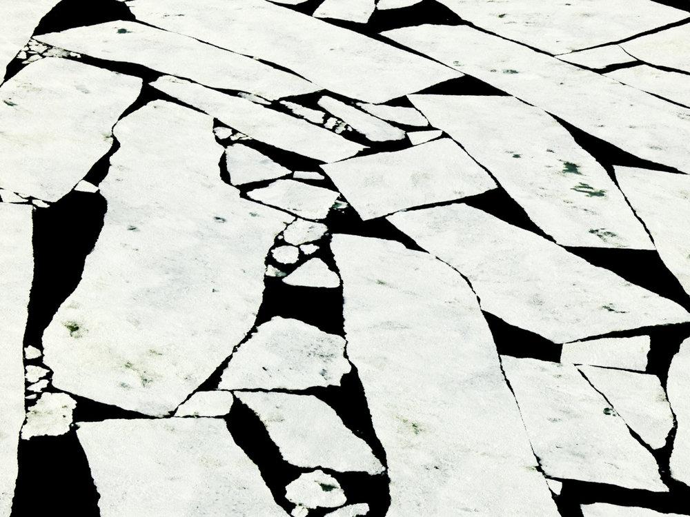 Broken Sea Ice, Wedel Jarlsberg Land