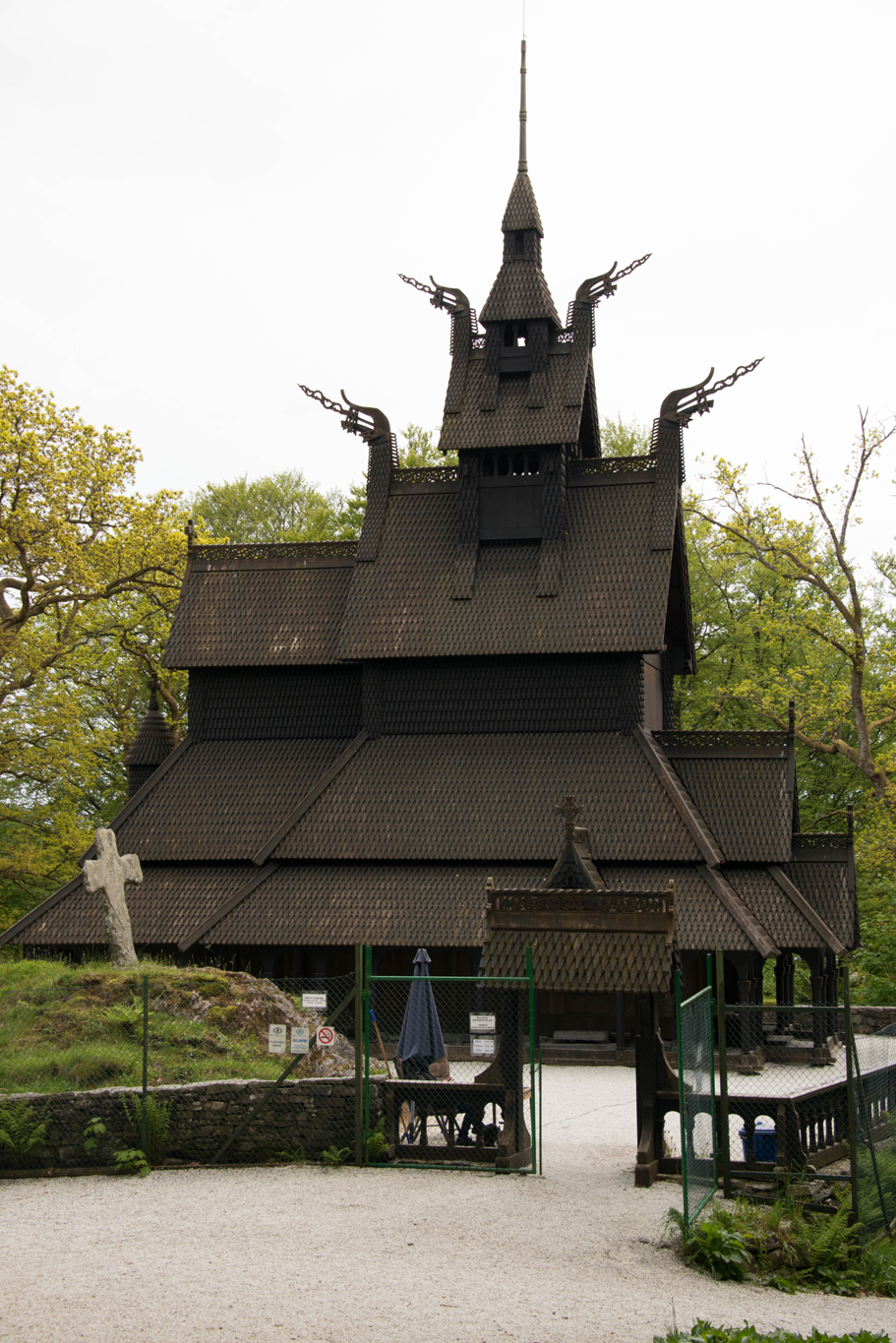 The Fantost Stave Church, Bergen