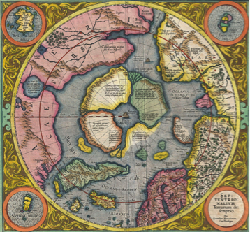 Early Map of the Arctic